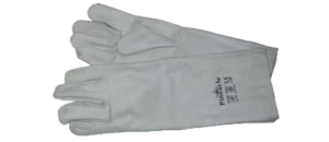 Chrome Leather Glove