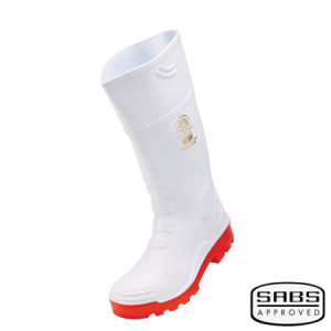 Gumboot Heavy Duty White (STC and NSTC)